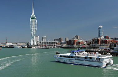 Wightlink FastCat passenger ferry